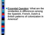APUSH Period 1 Notes #1 - New World Encounters