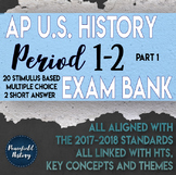 APUSH Period 1 and Period 2 Stimulus Based Multiple Choice Part 1 Test Bank