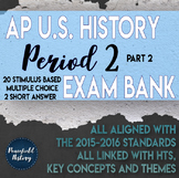 APUSH - Period 2 - Stimulus Based Multiple Choice - Test Bank - Part 2