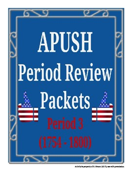 APUSH - Period 3 Review Packet
