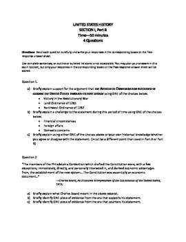 Apush Period 1 Test Worksheets & Teaching Resources | TpT
