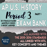 APUSH Period 3 Stimulus Based Multiple Choice Test Bank Part 1