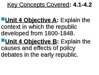APUSH Period 4 Notes #1 - Jefferson Presidency