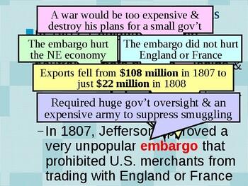 APUSH Period 4 Notes #2 - War of 1812