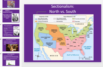APUSH Period 4 Powerpoint & Notes (Sectionalism) | TpT
