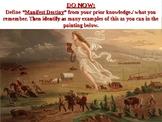 APUSH Period 5 Notes #1 - Manifest Destiny