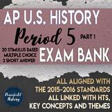 APUSH Period 5 Part 1 Stimulus Based Multiple Choice Test Bank