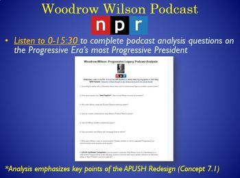 APUSH Period 7: Progressive Presidents Full Lesson (Roosevelt, Taft, Wilson)