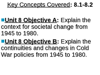 APUSH Period 8 Notes #1 - Truman's Cold War At Home