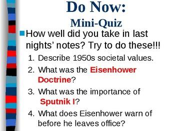 APUSH Period 8 Notes #4 - JFK