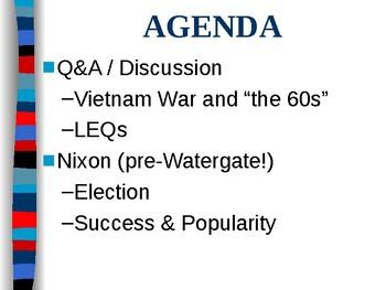 APUSH Period 8 Notes #6 - Nixon