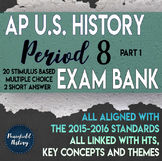 APUSH Period 8 Part 1 Stimulus Based Multiple Choice Test Bank Questions