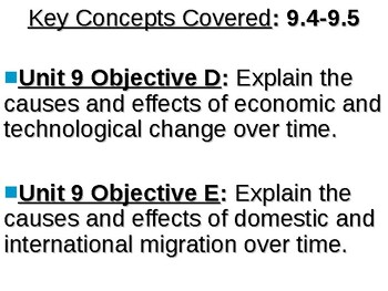 APUSH Period 9 Notes #3 - Clinton and W. Bush --> Present
