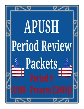 Apush Period 9 Worksheets & Teaching Resources | TpT