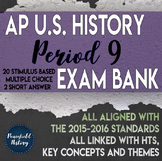APUSH Period 9 Stimulus Based Multiple Choice Test Questio