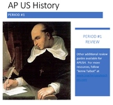 APUSH Period Review Guides (Periods #1-9)