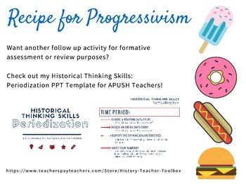 APUSH: Recipe for Progressivism