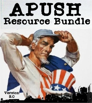 APUSH Resource Bundle - Tests, Quizzes and More [Version 2.0]