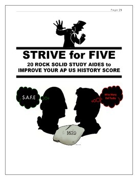 APUSH Review  - 20 Rock Solid Study Aides
