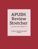 APUSH Review Stretcher #1
