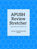 APUSH Review Stretcher #2