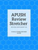 APUSH Review Stretcher #2