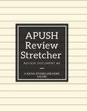 APUSH Review Stretcher #6
