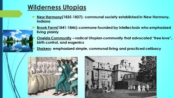 APUSH-Second Great Awakening and Reform Movements Powerpoint with Guided Notes