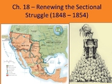 APUSH- Sectionalism Before the Civil War Powerpoint and Gu