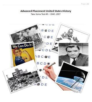 APUSH Take Home Test #9 1940-1957
