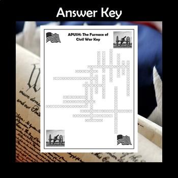 APUSH The Furnace of Civil War Crossword Review
