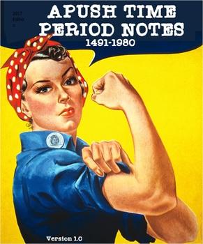 APUSH Time Period Notes Bundle