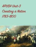 APUSH Unit 3 Creating a Nation