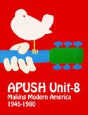 APUSH Unit 8 Making Modern America; the Cold War