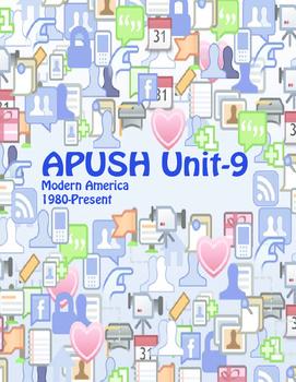 APUSH Unit 9 Modern America (includes study aids & current events)