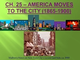 APUSH- Urbanization and Progressive Era Powerpoint and Guided Notes