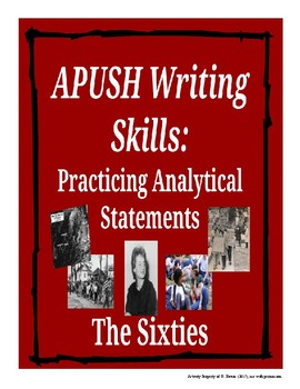 APUSH Writing Analytical Statements - The Sixties