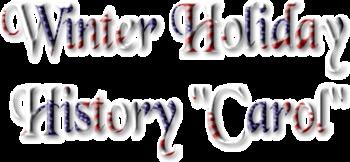 APUSH/Dual Credit U.S. History Holiday Carol Project