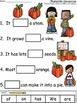 A+ Pumpkin Sentences: Fill In The Blank