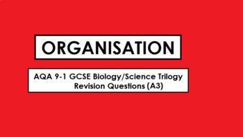 AQA Biology GCSE 9-1 Revision: ORGANISATION