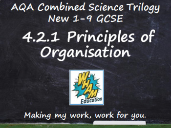AQA Combined Science Trilogy: 4.2.1 Principles of Organisation