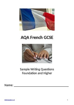 AQA French GCSE Writing Workbook