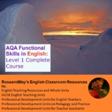 AQA Functional Skills in English: Level 1 Complete Course *NEW*