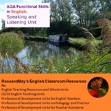 AQA Functional Skills in English: Speaking and Listening Unit