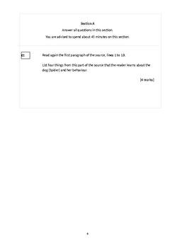 AQA GCSE Paper 1 A Woman in Black