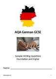 AQA German GCSE Writing Workbook