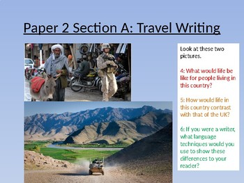 AQA Paper 2 Section A - Reading