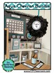 AQUA CHEVRON Classroom Decor - EDITABLE Clutter-Free Class