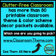 AQUA and LIME Polka Dots Classroom Decor EDITABLE