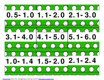 AR/ A-Z book bin labels